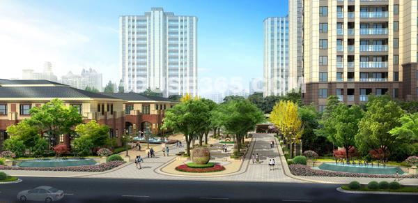 万科城溪园29#楼最新工程进度(2015年9月摄)