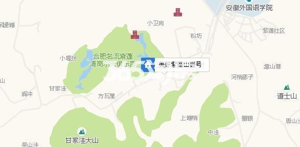 美好紫蓬山壹号区位图