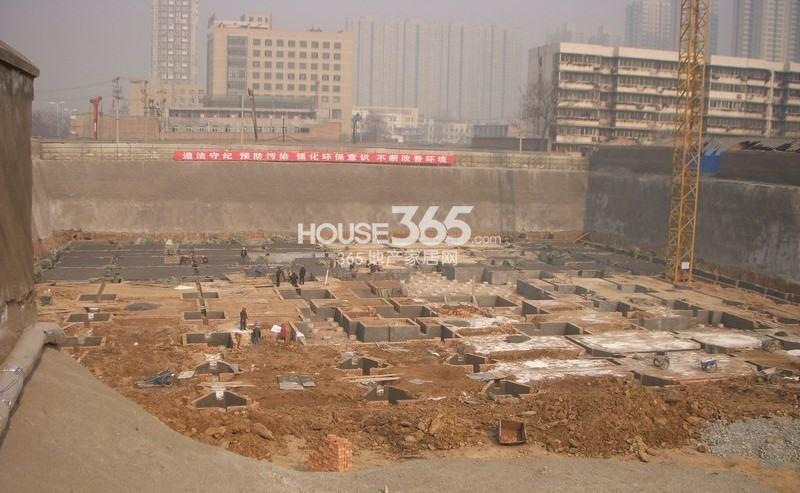 新福兴面孔公社工程进度图(2013年1月)