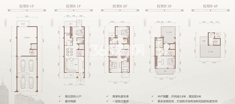 中海世家别墅280㎡户型图