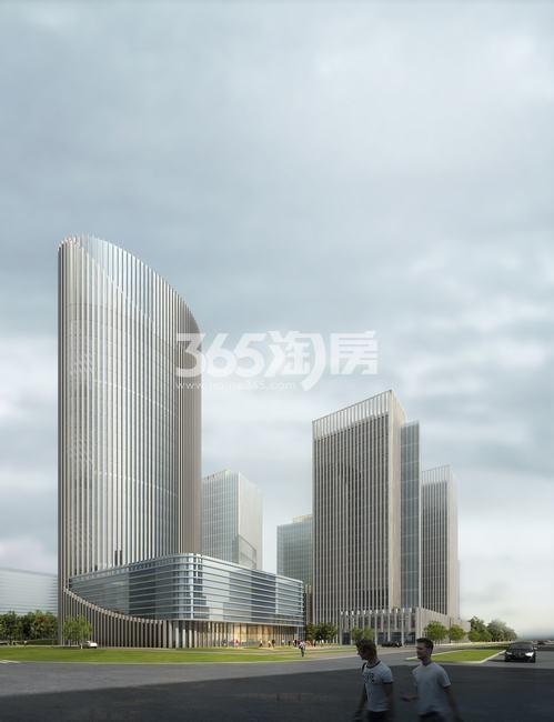 航天城中心广场效果图