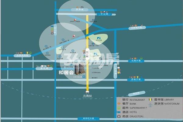 和居会交通图