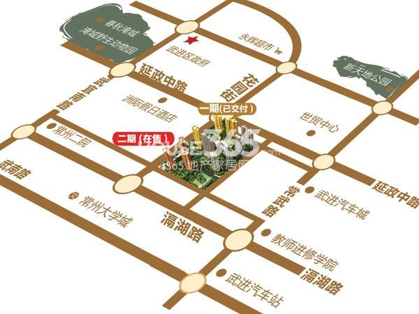 弘建一品交通图