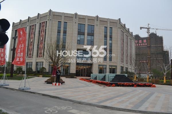 苏宁悦城售楼处实景图(2013.4.18)