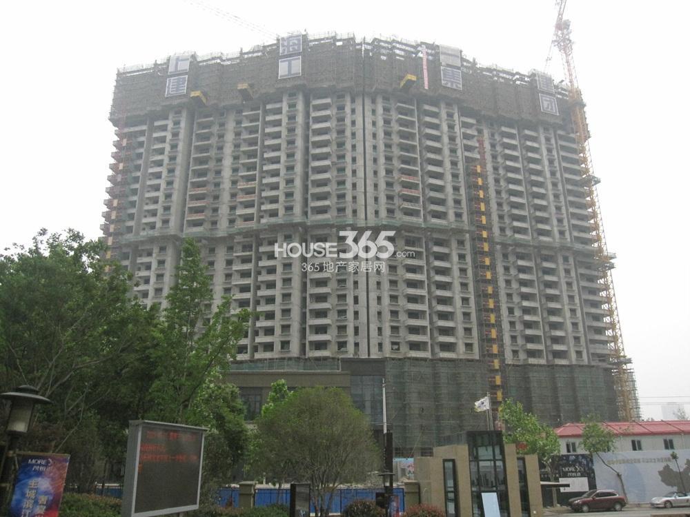世茂外滩新城6号楼实景图(5.20)
