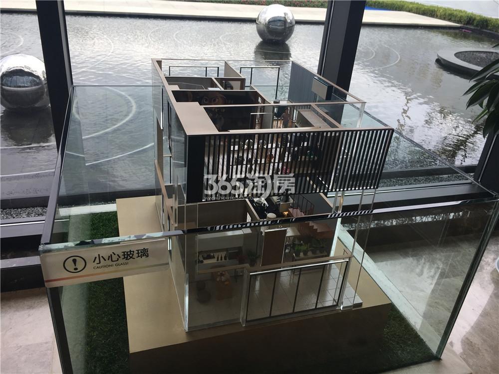 中骏六号街区售楼处模型图(3.15)