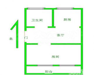 沁园新村1室精装修5楼近六中生活配套设施齐全出行方便学区可用
