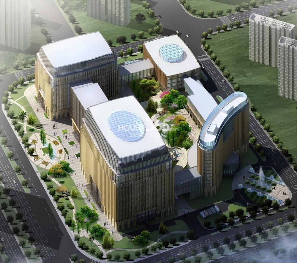 华泰证券总部大楼效果图