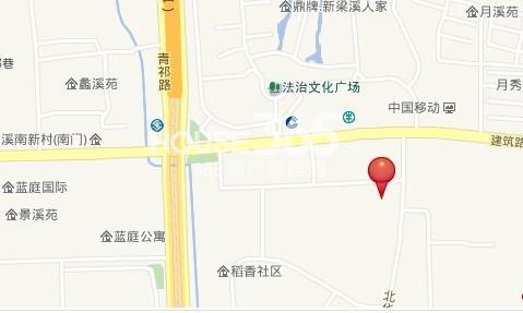 金辉梁溪原筑交通图