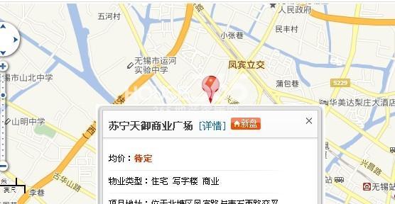 苏宁天御商业广场交通图