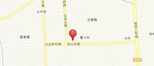 爱涛天逸园交通图