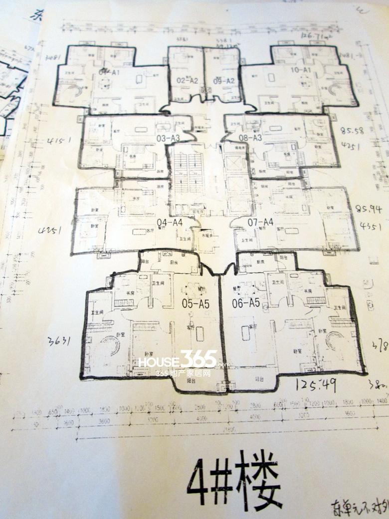腾业国王镇4楼楼层图
