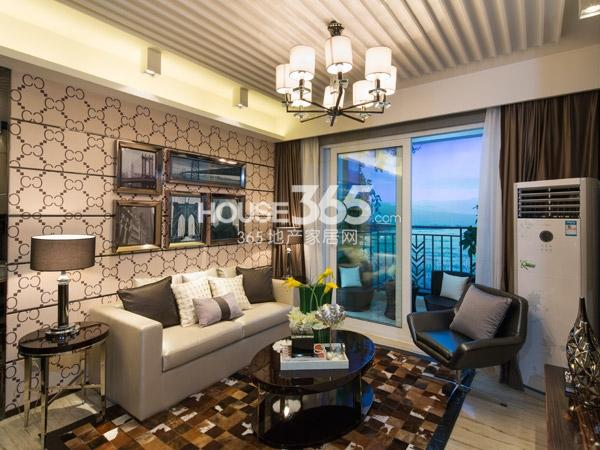 88平样板房-客厅