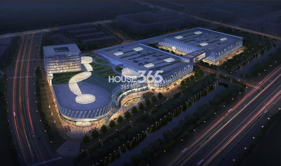 杭州中润中心鸟瞰图