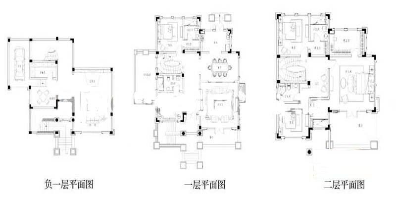 世纪天城二期19幢s1户型户型图5室3厅1厨 399.47㎡