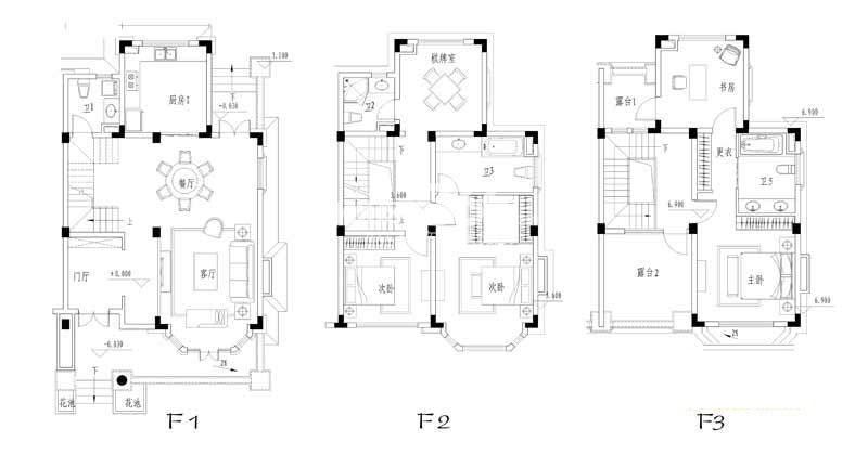 世纪天城二期19幢ES-户型户型图5室2厅3卫1厨 399.47㎡
