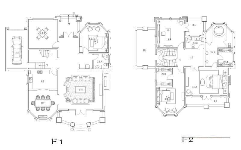 世纪天城二期CN户型户型图5室2厅3卫1厨 321.42㎡