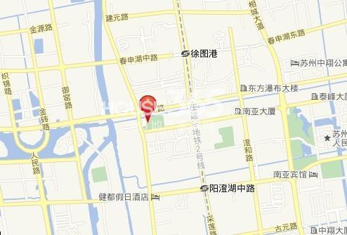 中翔时尚广场交通图