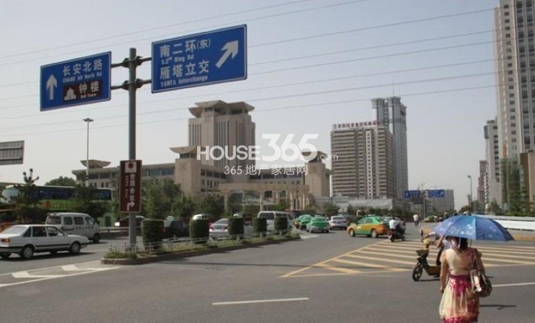 九锦1号周边交通路牌(2013.8.29)