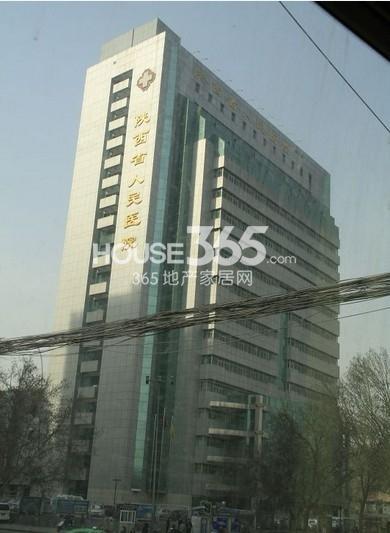 九锦1号周边陕西省人民医院(2013.8.29)
