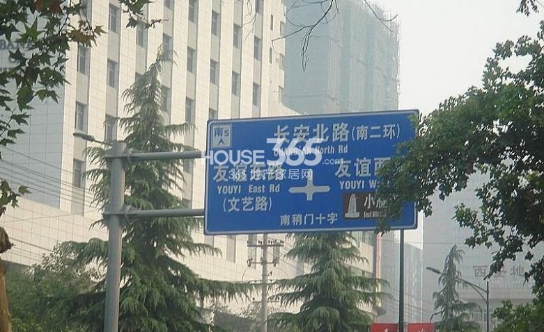 九锦1号周边路牌(2013.8.29)