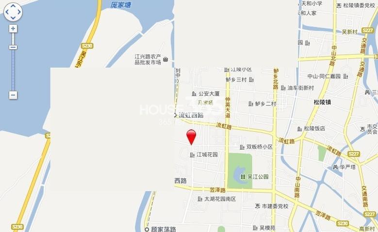 阳光悦湖公馆交通图