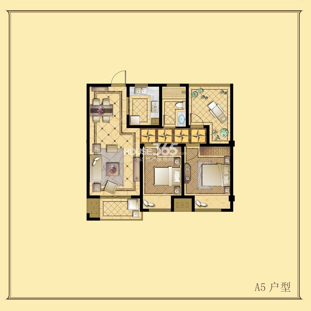 招商小石城8期A5户型