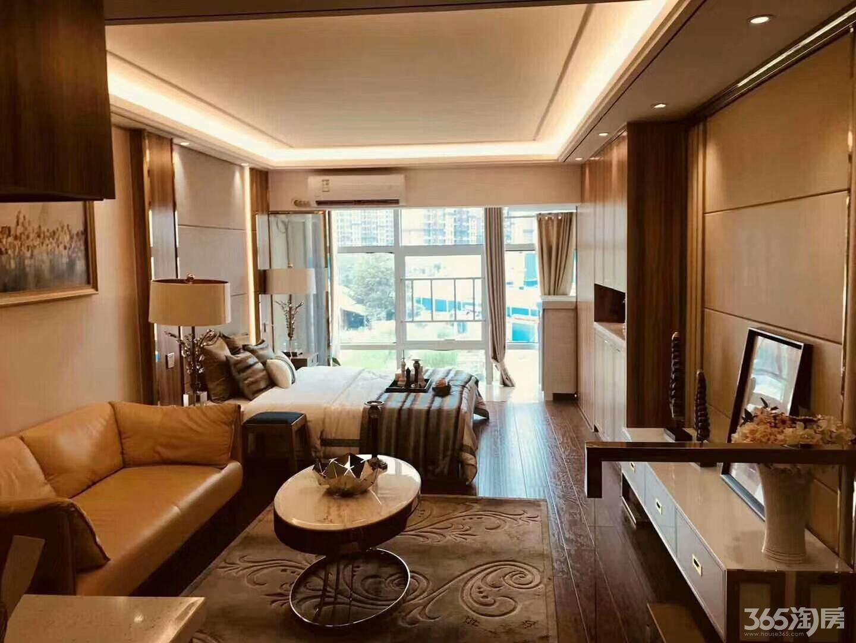 庐阳区地铁口,5米挑高买1层得2层,带阳台,自带商圈精装公寓