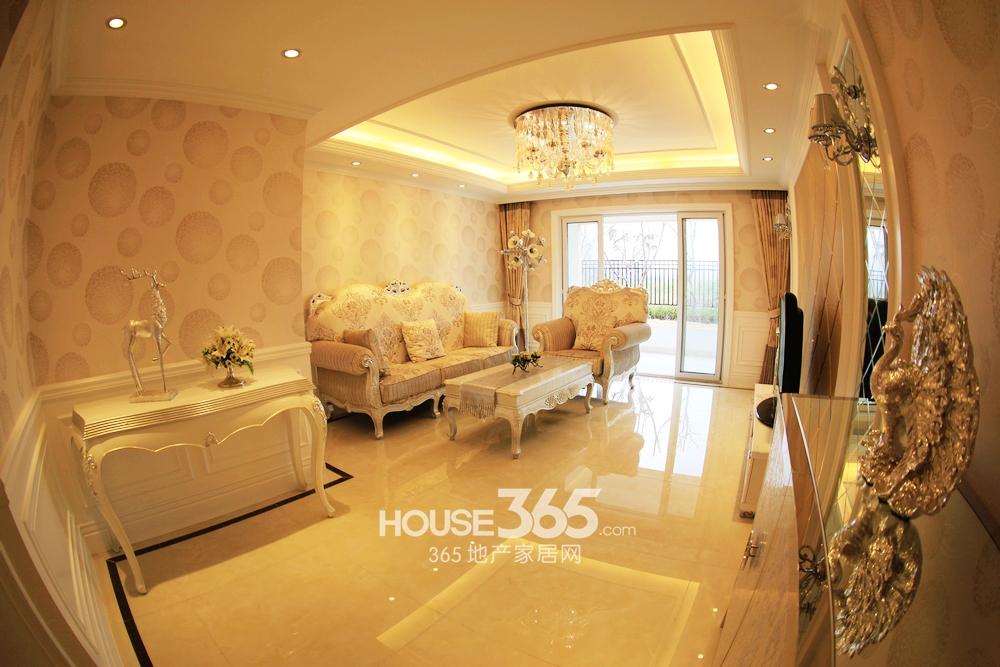 DN户型128平样板房-客厅