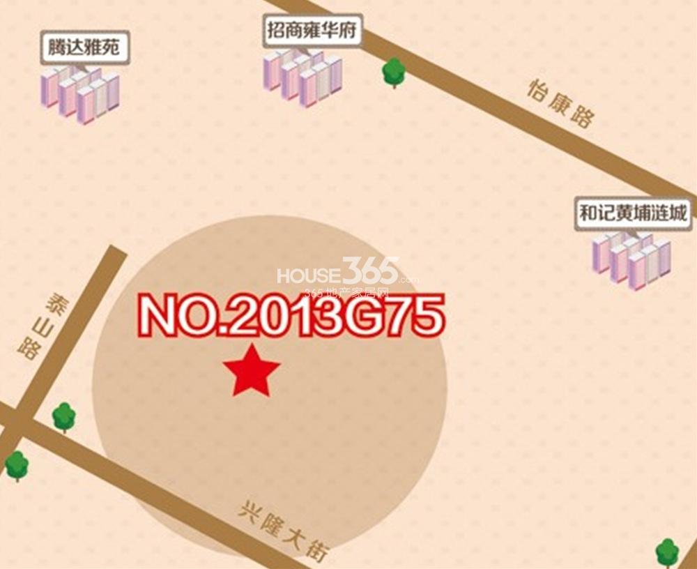 北京金隅河西G75地块区位图