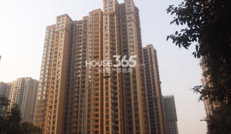 融侨城20#楼工程进度图(摄于2013年10月12日)