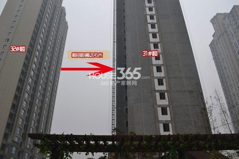 曲江观山悦实景图