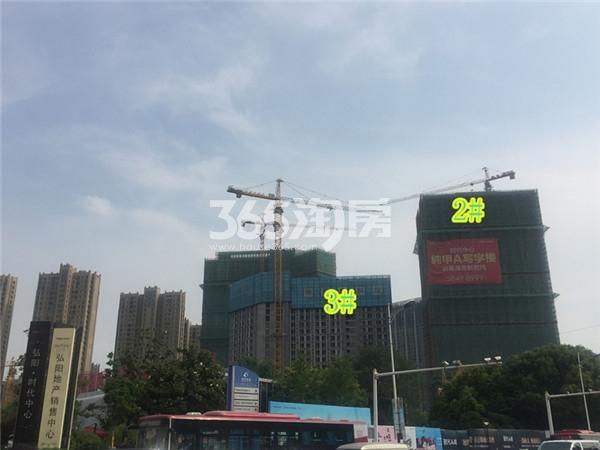 弘阳时代中心施工进展(6.12)