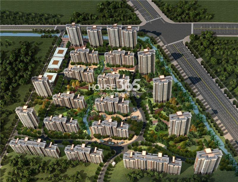 九龙湾树人园鸟瞰图