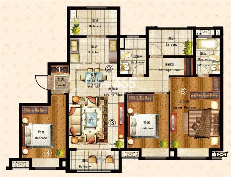 谁能帮我设计一张房屋平面设计图纸!地皮面积12米*9米