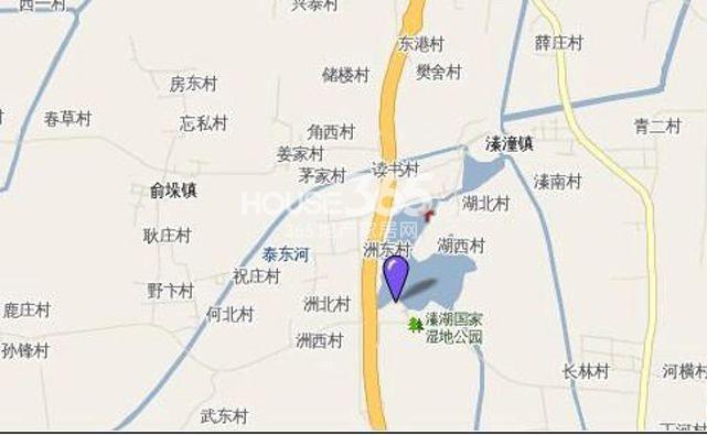 泰州华侨城交通图
