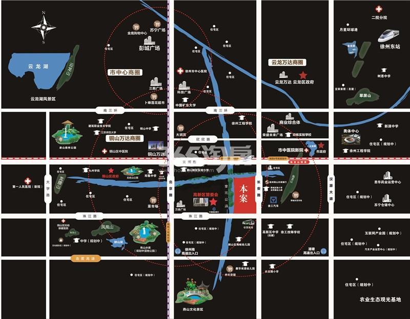 珍宝岛领寓交通图