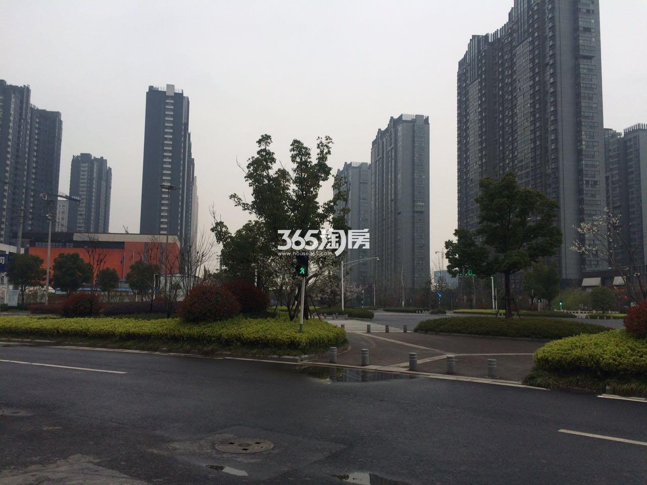 海峡城第三街区实景图(3.24)