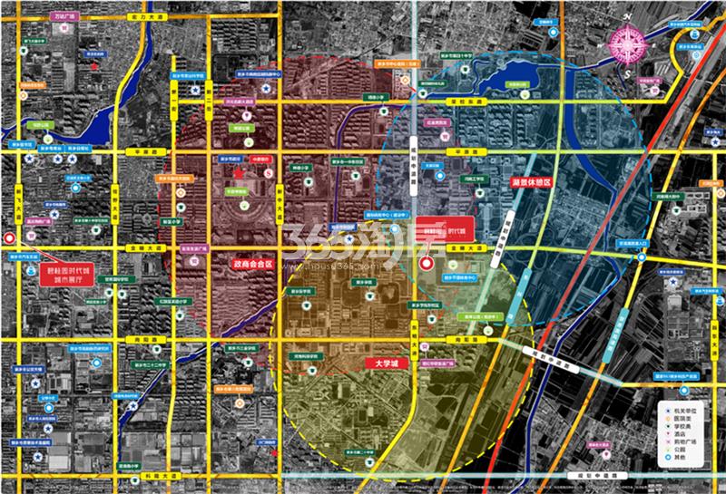 碧桂园时代城交通图