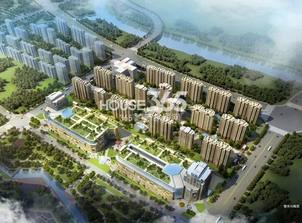 正嘉香港城鸟瞰图