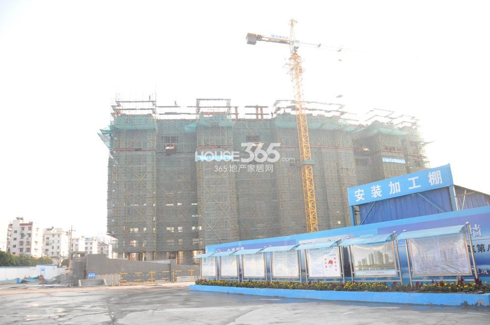 恒盛金陵湾在建楼栋实景图(11.25)