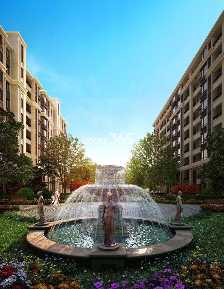 银亿东城小区景观效果图