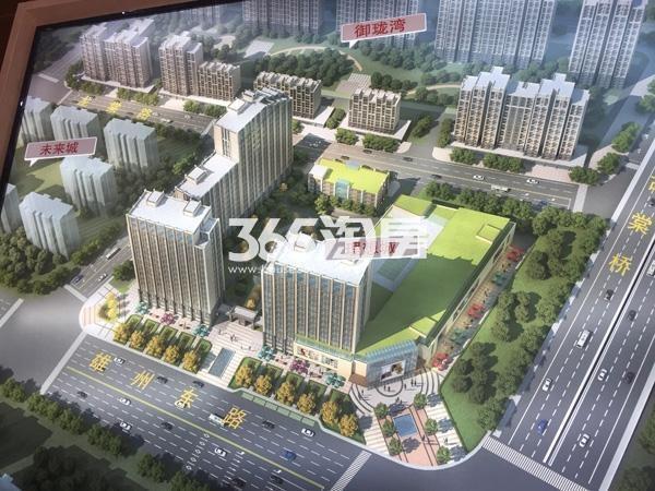 御珑湾·理想商业中心鸟瞰图