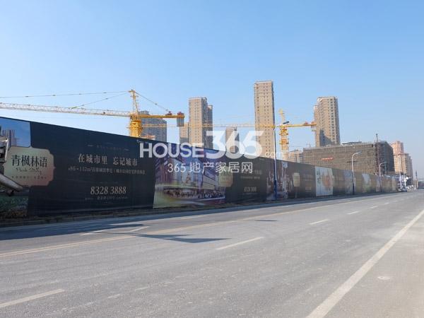 常州宝龙城市广场[青枫林语]工程实景图(2014.1.22)