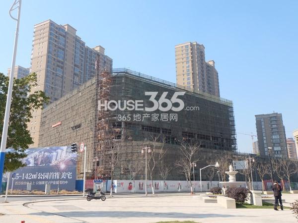 常州宝龙城市广场办公、公寓工程实景图(2014.1.22)