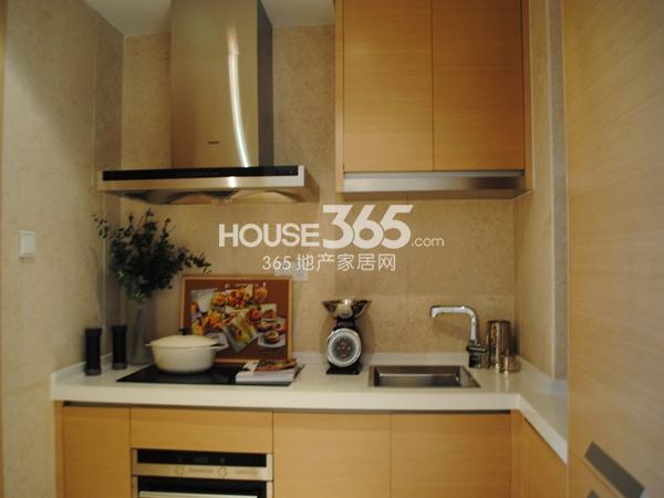 绿地西水东中央生活区5B6#194㎡样板间厨房