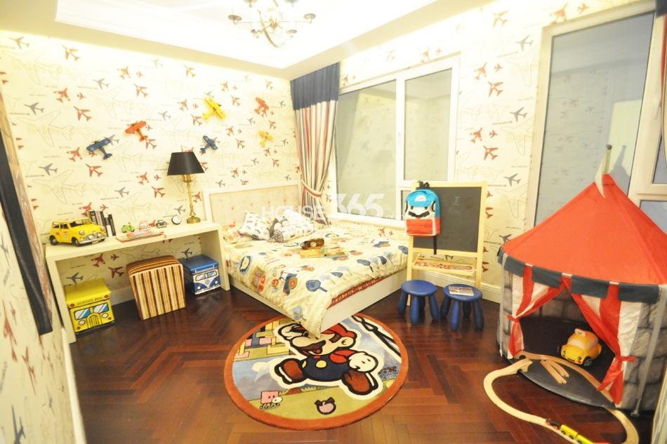 银亿东城D1样板间——儿童房