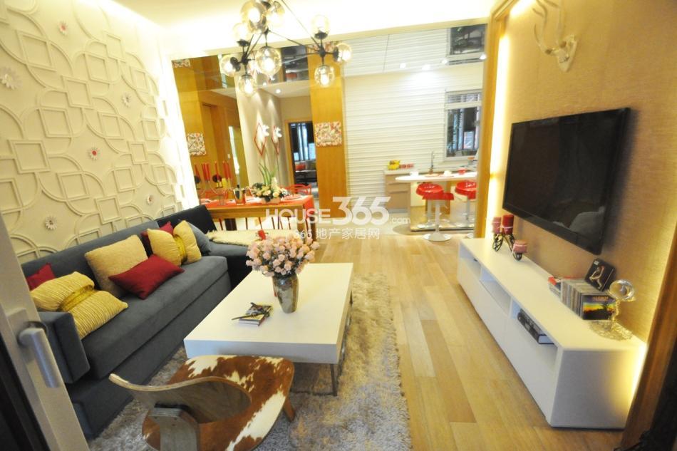 银亿东城D1样板间——客厅