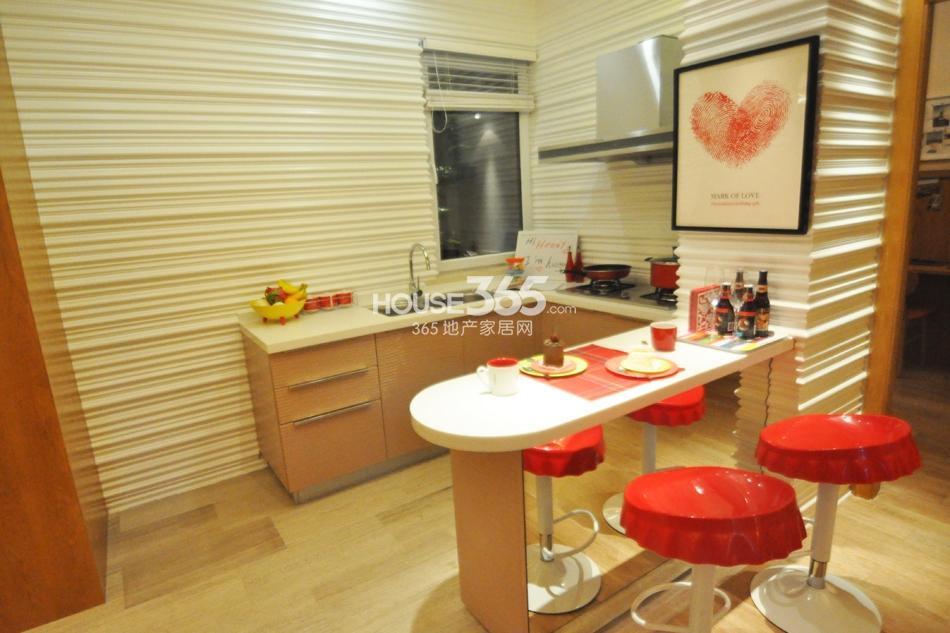 银亿东城D6样板间——厨房