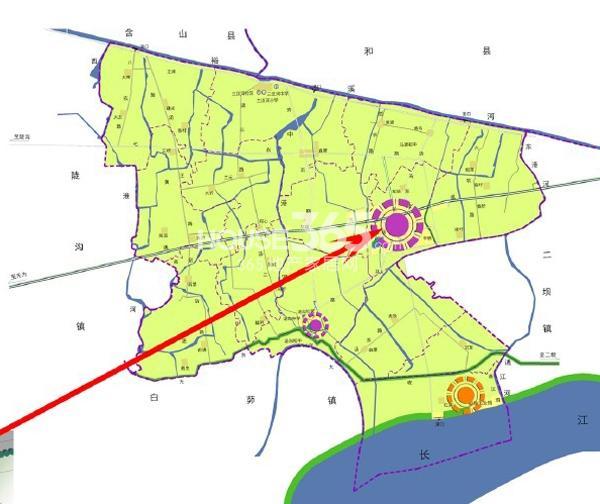 早映绿城区位图